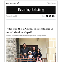 Who was the UAE-based Kerala expat found dead in Nepal?