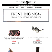 Bluefly - Products We Love + Shop the Clearance Event