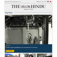 Centre seeks guidelines on execution of convicts