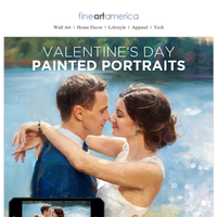 The Perfect Valentine's Day Gift - Transform Your Favorite Photo into a One of a Kind Masterpiece