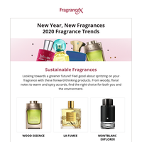 Your fragrance picks for the new year