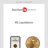 High-End Certified New Year Liquidation | IRS Liquidations