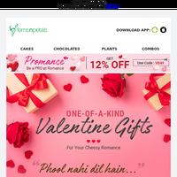 #PromanceSpecial Unique V-Day Gifts ❤️