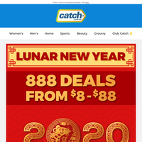 888 Deals From $8 To $88! Happy Lunar New Year!