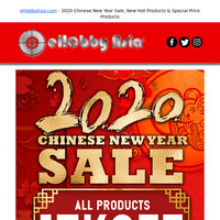 eHobbyAsia.com - 2020 Chinese New Year Sale, New Hot Products & Special Price Products