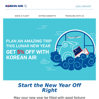 [Korean Air] Our Special Gift to You This Lunar New Year