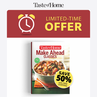 151 Plan-Ahead Recipes - LIMITED-TIME OFFER!