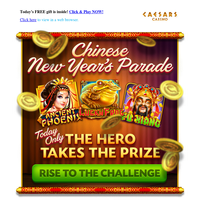 Join the Chinese New Year Parade to win your ESSENTIAL CHEST 🏆🏆