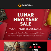 Your guide to our Lunar New Year Sale