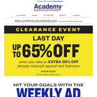 WEEKLY AD: Get Fit for the New Year