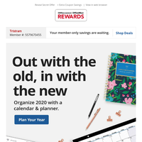 Stylize your year with new calendars & planners