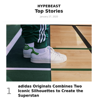 This Week's Top Stories: adidas Originals Combines Two Iconic Silhouettes to Create the Superstan and More