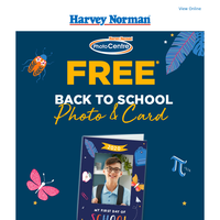 FREE* Back to School Photo & Card!
