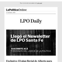 Suscribite al newsletter de Santa Fe y enterate del lado B de la política