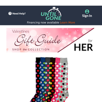 ❤ Valentines Gifts for Her - 66% Off Mechaly Printed Knee High Socks ❤