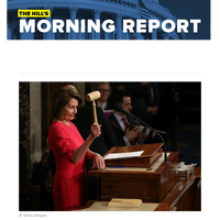 The Hill's Morning Report - House ready to impeach Trump in historic vote   Vulnerable Dems jump aboard impeachment train   Trump rails against House Dems' 'vicious crusade' ahead of impeachment vote   McConnell, Schumer battle over looming Se