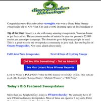 $10K Shopping Spree Winner Announced - SA News