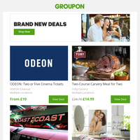 Brand New Offers - Don ́t Miss Out!