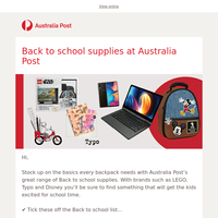 Back to school must haves, just a click away!