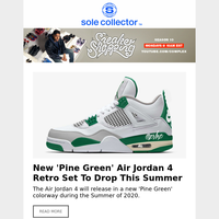 New 'Pine Green' Air Jordan 4 Retro Set To Drop This Summer, Madden and Xbox Team With Nike for S...
