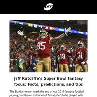 🎯Jeff Ratcliffe's Super Bowl Fantasy Football Focus