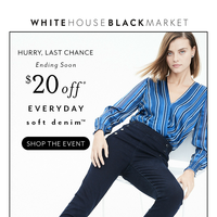 ​$20 OFF + New Year = New Pair of Jeans!