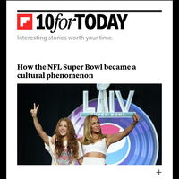 How the Super Bowl became a cultural phenomenon