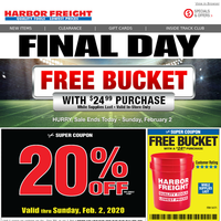 harbor freight cyber monday 2020