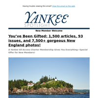 You've Been Gifted 93 Issues of Yankee