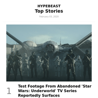 This Week's Top Stories: Test Footage From Abandoned 'Star Wars: Underworld' TV Series Reportedly Surfaces and More