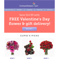 Free Flower Delivery Starts Now