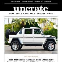2018 Mercedes-Maybach G650 Landaulet & more