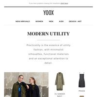 Modern utility: Functionality and military inspiration