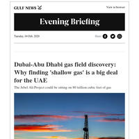 Why finding 'shallow gas' is a big deal for the UAE