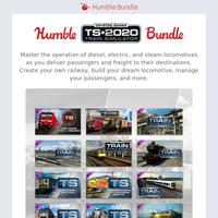 Take control of powerful locomotives around the world in the Train Simulator Bundle!
