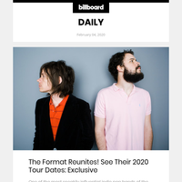 The Format Reunites: See Their 2020 Tour Dates