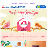 Whats next after CNY shopping?🤔 Of course its Valentines shopping!🥳 Click to find the perfect gift for your loved one!