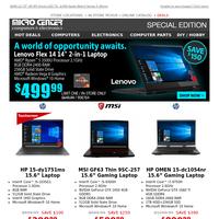 $499 Lenovo Flex 14\