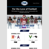 Football is not over—the XFL is here