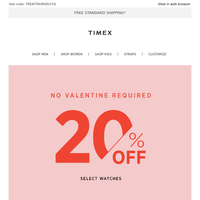 You are loved 💝 Treat yourself to 20% off