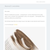 Kurzweil Newsletter