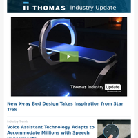 Feb. 6: New X-ray Bed Design Takes Inspiration from Star Trek