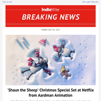 'Shaun the Sheep' Christmas Special Set at Netflix from Aardman Animation