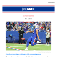 Bills' punting went from shaky to solid in 2019