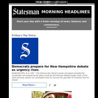 Democrats prepare for New Hampshire debate as urgency rises