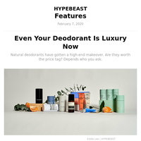 Even Your Deodorant Is Luxury Now