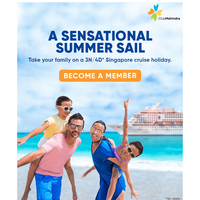 Summer holidays get happier on a 3N/4D cruise in Singapore
