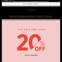 Sale ends tomorrow. Don't wait! 💗