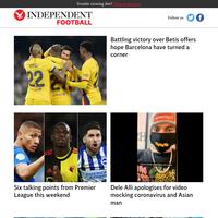 Battling victory over Betis offers hope Barcelona have turned a corner