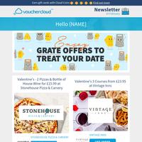 😍 Best Valentines Food & Drink Deals - Prezzo • Carluccio's • Loch Fyne + more!
